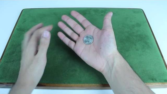 Make a coin appear out of thin air