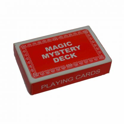 magic mystery deck playing cards