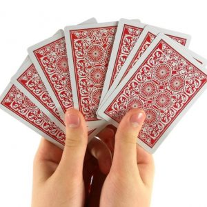 handful of cards