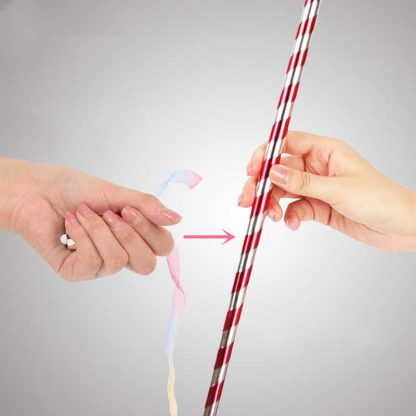 ribbon to appearing cane how-to