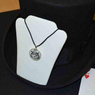Diz-owl-johndavidmagic-logo necklace