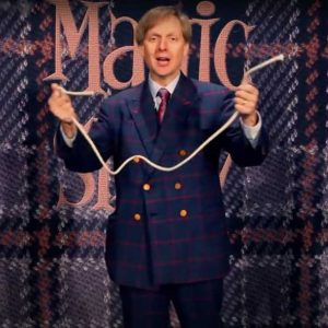 mack king performing the rope trick